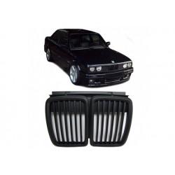BMW 3er 1982-1994 Schwarz Sportgrill Nieren Set