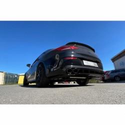 FOX Duplex Sportauspuff Mercedes CLA 45 AMG