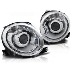 LED Scheinwerfer Fiat 500