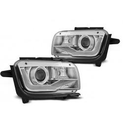 LED Lightbar Scheinwerfer Chrom Chevrolet Camaro