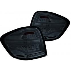 LED Lightbar Rückleuchten Chrom Smoke Mercedes ML W164