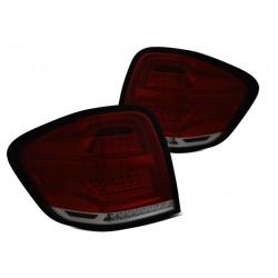 LED Lightbar Rückleuchten Rot Smoke Facelift Mercedes ML W164