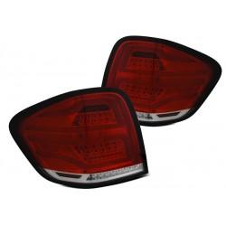 LED Lightbar Rückleuchten Rot Facelift Mercedes ML W164