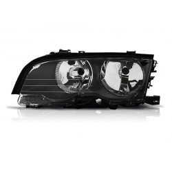 Scheinwerfer Schwarz Links BMW E46
