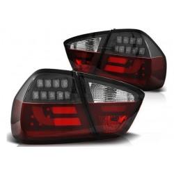 LED Lightbar Rückleuchten Schwarz BMW E90