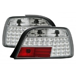 LED Rückleuchten Chrom BMW E38