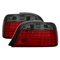 LED Rückleuchten Smoke BMW E38