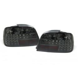 LED Rückleuchten Chrom Smoke BMW E38
