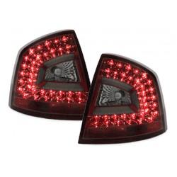 LED Rückleuchten Rot Skoda Octavia II Limo