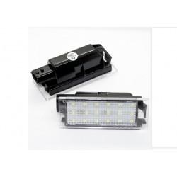 LED Kennzeichenbeleuchtung Renault Clio