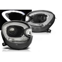 LED Scheinwerfer Schwarz Mini Countryman