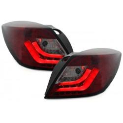 LED Lightbar Rückleuchten Rot Opel Astra H GTC