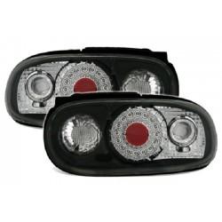 LED Rückleuchten Schwarz Chrom Mazda MX5 NA