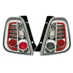 LED Rückleuchten Chrom Fiat 500