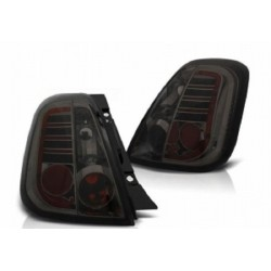 LED Rückleuchten Chrom Smoke Fiat 500
