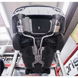 Capristo Sportauspuff Mercedes C43 AMG