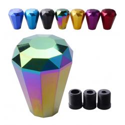 Diamant Schaltknauf Aluminium 70mm