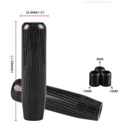 Carbon Schaltknauf universal 130mm