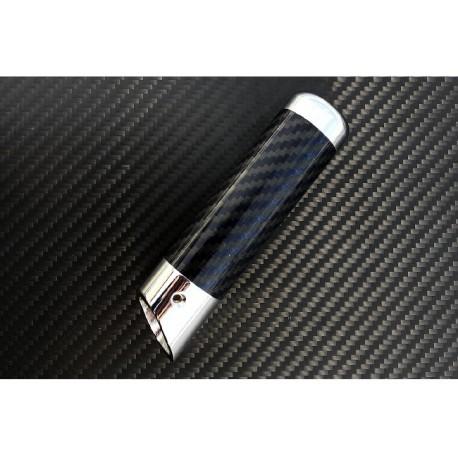Carbon Handbremsabdeckung blau Mitsubishi EVO 10