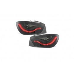 LED Dynamic Rückleuchten Schwarz/Smoke Seat Ibiza 6J 08-12