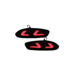 LED Rückleuchten Schwarz/Smoke Seat Leon 1P1 09-12
