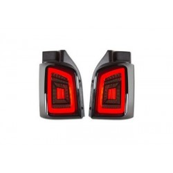 LED Dynamic Rückleuchten schwarz smoke VW T5 03-15