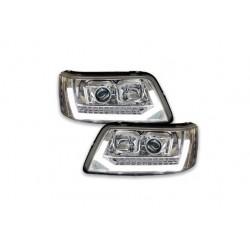 LED DRL Dynamic Scheinwerfer chrom VW T5 03-09