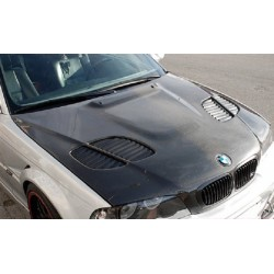 Carbon Motorhaube GTR Style BMW M3 E46