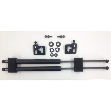 Carbon Haubendämpfer Mitsubishi Lancer 00- 02