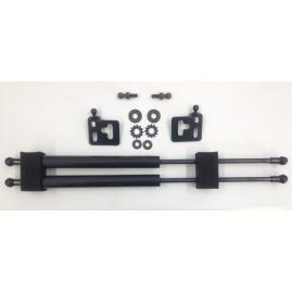 Haubendämpfer Mitsubishi EVO 96- 00 Carbon Look