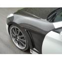 Carbon Kotflügel mit Luftschlitze Hyundai Genesis ab 2009-