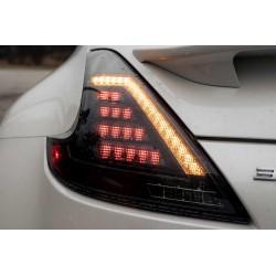 LED Rückleuchten Schwarz Smoke Nissan 370Z