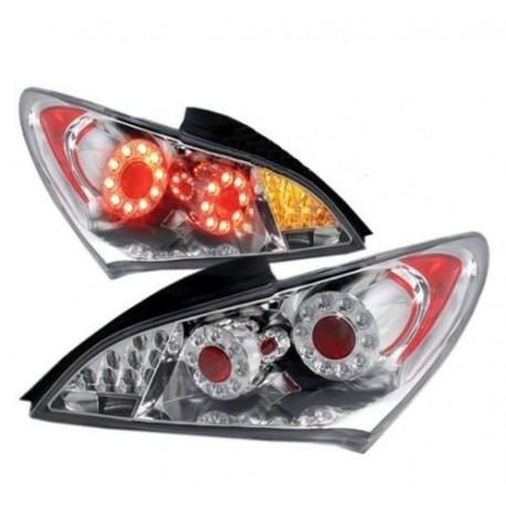 LED Heckleuchten GTR Style chrom smoke Hyundai Genesis 09-