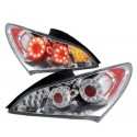 LED Heckleuchten GTR Style chrom Hyundai Genesis 09-