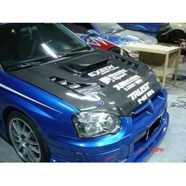Carbon Motorhaube Varis Style Impreza 03-05