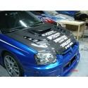 Carbon Motorhaube Varis Style Subaru Impreza WRX STI 2003-2005