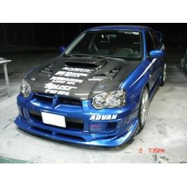 C-West Style Spoilerlippe GFK Subaru Impreza WRX 2003-2005