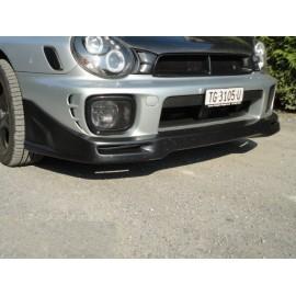 Frontspoilerlippe Zero Sport Style PU Subaru Impreza 2001-2002