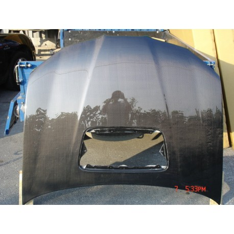 Carbon Motorhaube OEM Impreza 05-07