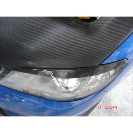 Scheinwerferblende Carbon Impreza 05-07