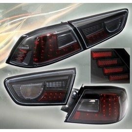 Heckleuchten LED rot-schwarz Mitsubishi EVO 10