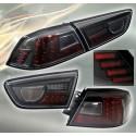 LED Heckleuchten schwarz Mitsubishi EVO 10
