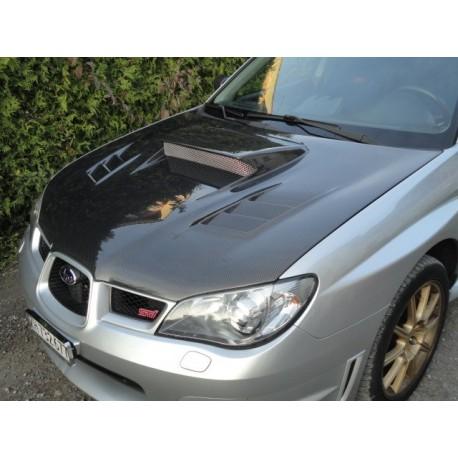 Carbon Motorhaube CW II Style Impreza 05-07