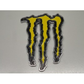 Monster Energy Emblem gelb
