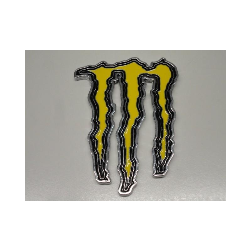 monster energy emblem gelb dragon import shop. Black Bedroom Furniture Sets. Home Design Ideas