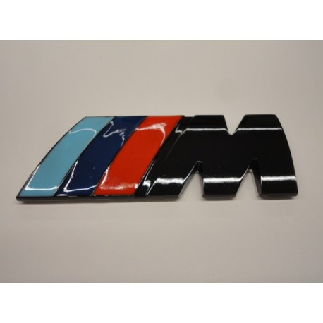 M-Sport Emblem schwarz