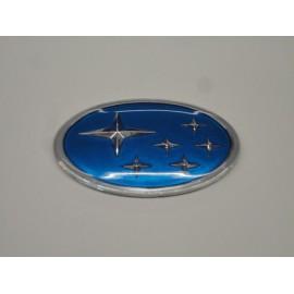 Subaru Emblem blau
