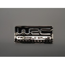 WRC Emblem schwarz