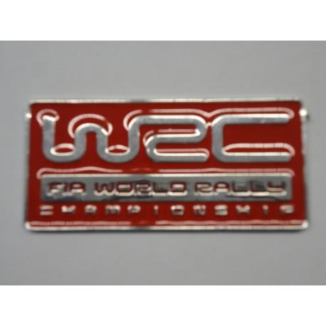 WRC Emblem rot