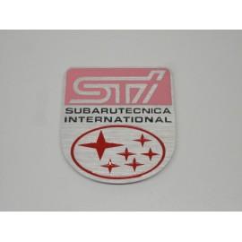 Kotflügel STI Emblem Subaru